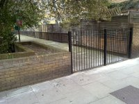 New Fence behind Warmsworth