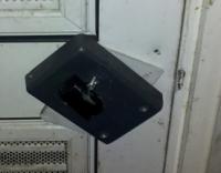 Broken Lock Inside Refuse Room in Goldthorpe