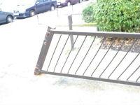 Broken Gate on Pratt Street