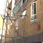 Unsecure Scaffolding 19-05-2011